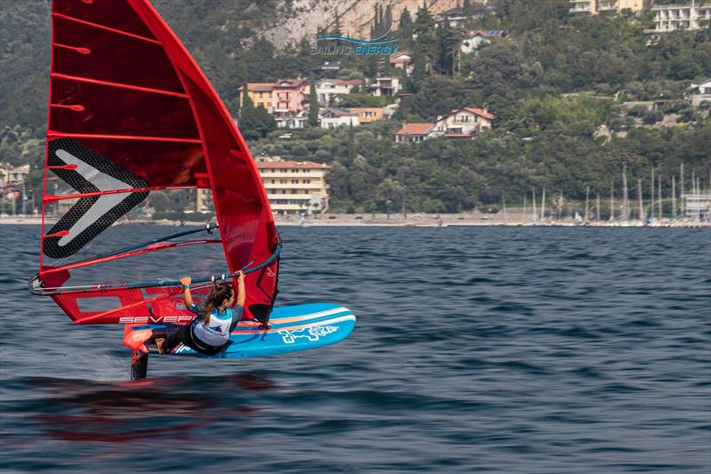 Starboard iFoil - won the recommendation from the Windsurfer Evaluation Trials on Lake Garda - September 2019 - photo © Jesus Renedo / Sailing Energy / World Sailing