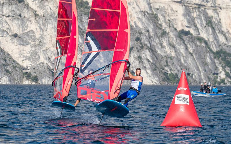 Starboard iFoil - World Sailing Windsurf Evaluation Trials, Lago di Garda, Italy. September 29, 2019 - photo © Jesus Renedo / Sailing Energy / World Sailing