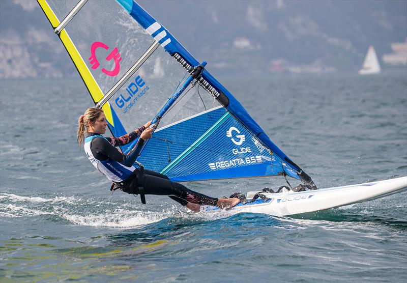 The Glide - at half the price of the current Olympic equipment - offers some good options - World Sailing - Windsurf Evaluation, Lago di Garda, Italy. September 29, 2019. - photo © Jesus Renedo / Sailing Energy / World Sailing