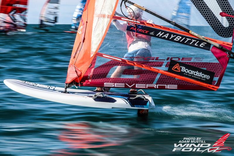 Patrick Haybittle - NZ Windfoiler National Championships - March 13-15, 2020 - Manly Sailing Club - photo © Adam Mustill