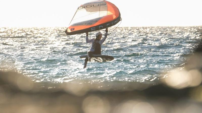 Laura Rudolph - Tarifa Wing Pro - photo © Wing Foil World Tour