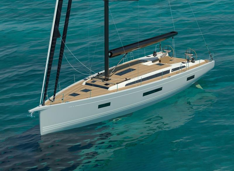 The new X56 render - photo © X-Yachts