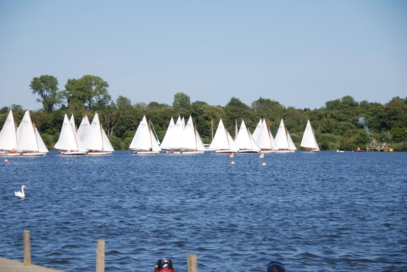 Start of the Gold Cup at Wroxham Week - photo © Bill Webber & Ivan Ringwood