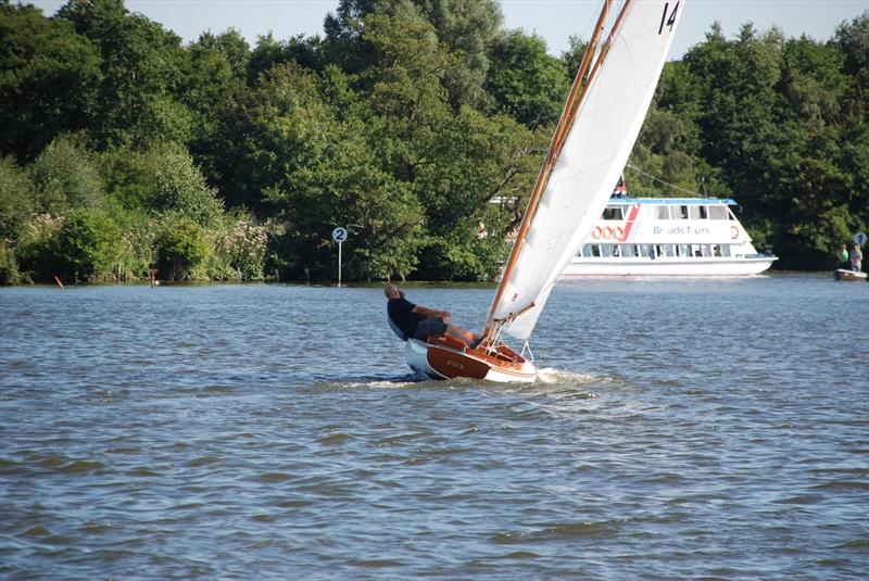 Fox leading in the Gold Cup at Wroxham Week - photo © Bill Webber & Ivan Ringwood