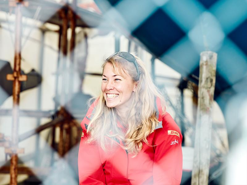 Zhik-sponsored Susie Goodall ahead of the Golden Globe Race 2018 - photo © Maverick / DHL