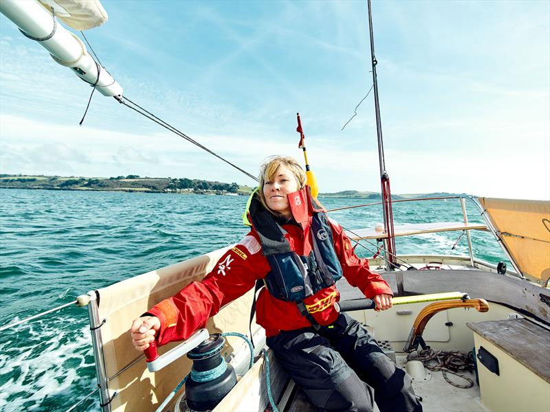 Zhik-sponsored Susie Goodall ahead of the Golden Globe Race 2018 - photo © Zhik