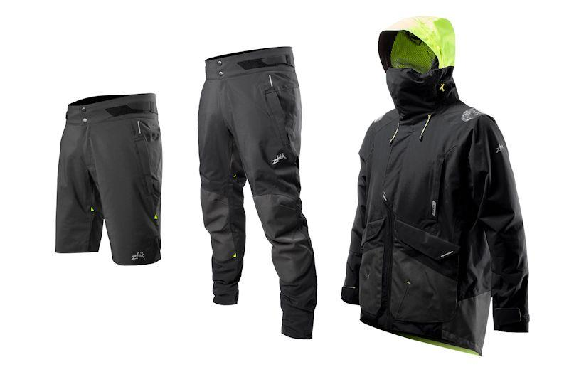 New for 2020 is Zhik's APEX range of jackets, shorts and long pants - photo © Zhik