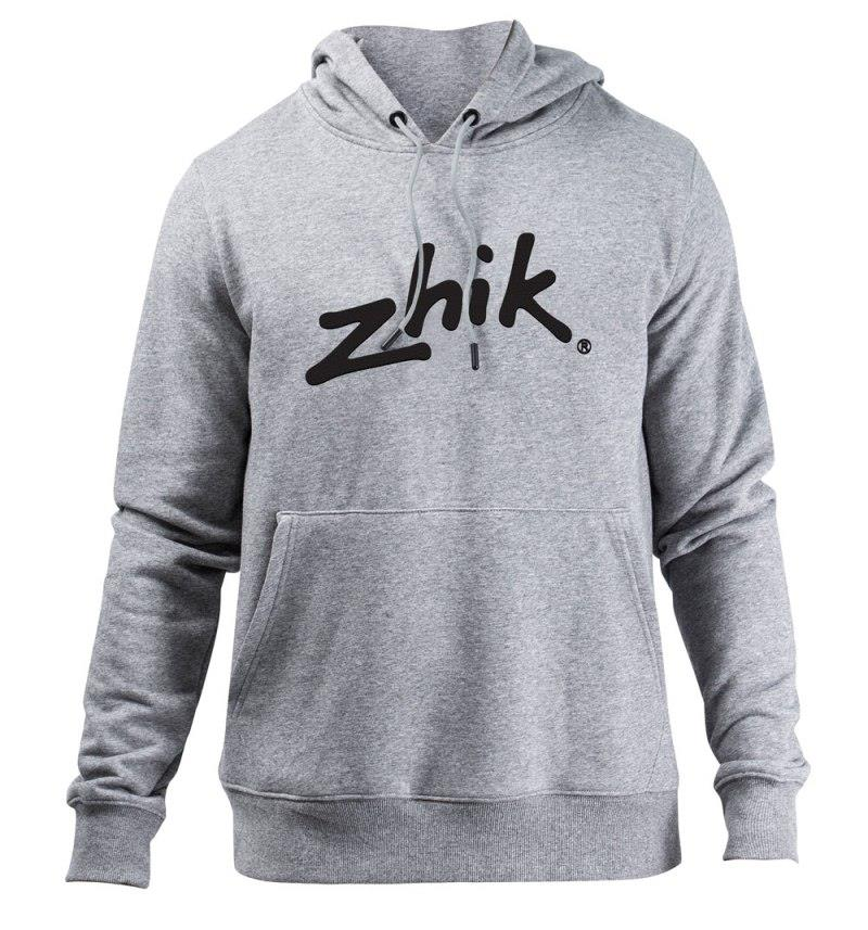 Zhik grey men's hoodie - photo © Zhik
