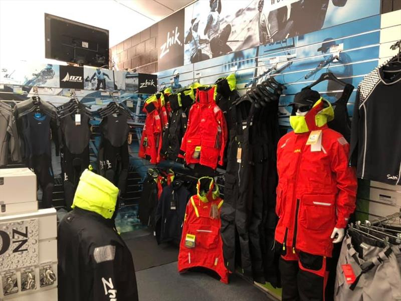 The full range of Zhik gear including wet weather gear is now sold at The Water Shed - photo © The Water Shed